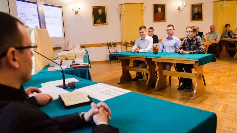 XXVII edycja konkursu Biblijnego dla Ministrantów i Lektorów